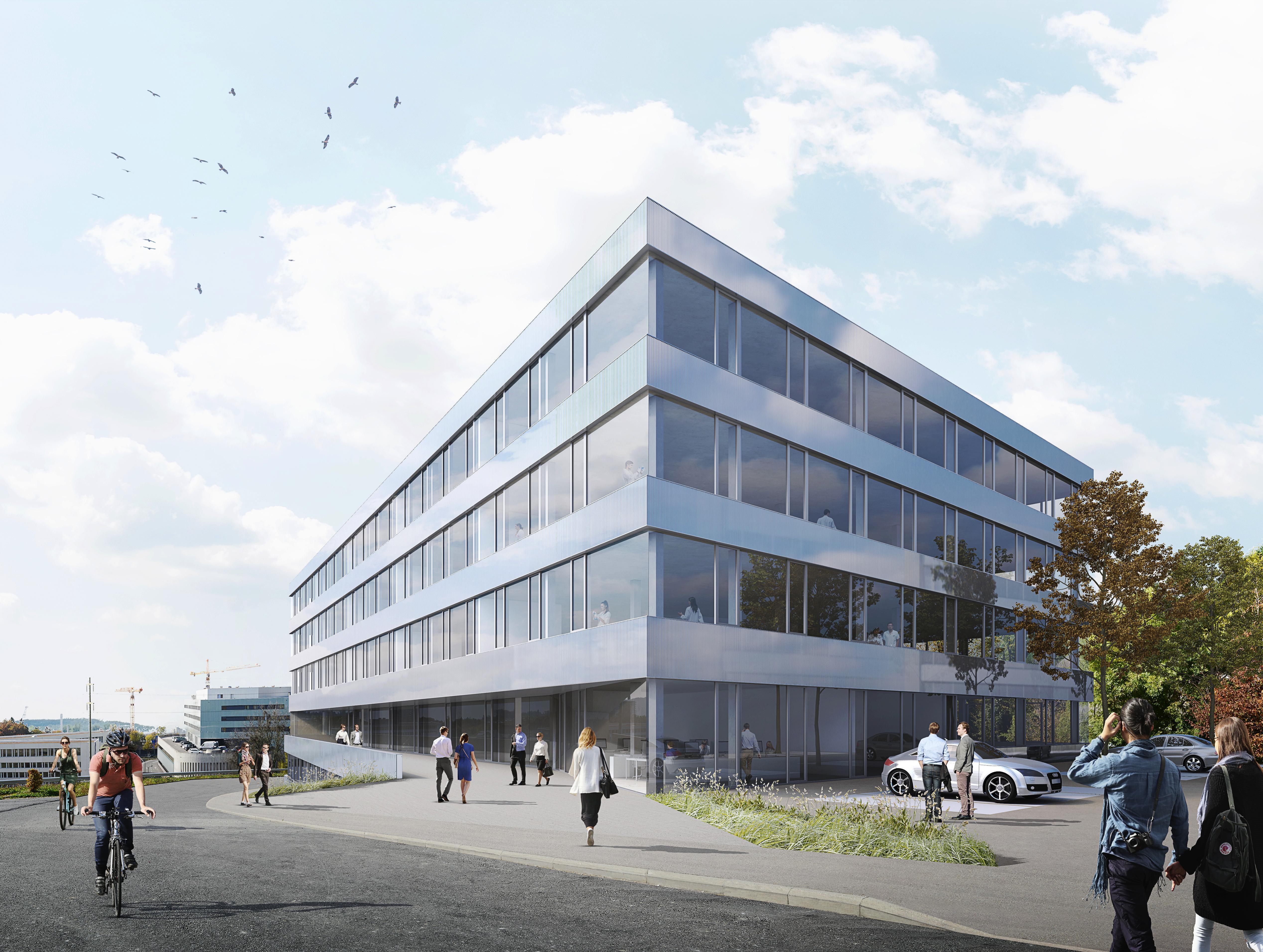 05.11.2018 Le campus des sciences de la vie Biopôle poursuit son expansion avec la construction d'un nouveau bâtiment